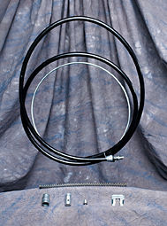 Ford Bronco Emergency Brake Cable