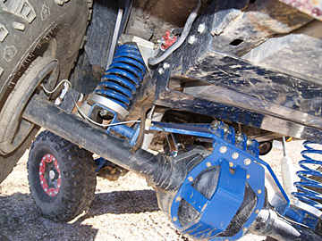 Bronco Four Link Suspension