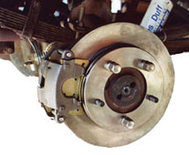 Rear Disc Brake Conversion