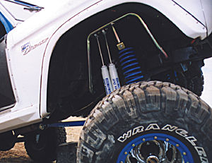 Ford Bronco Stage 2 Long Travel Shocks