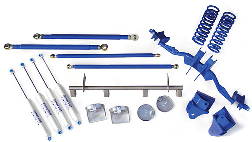 Ford Bronco Stage 4-Link Suspension Kit