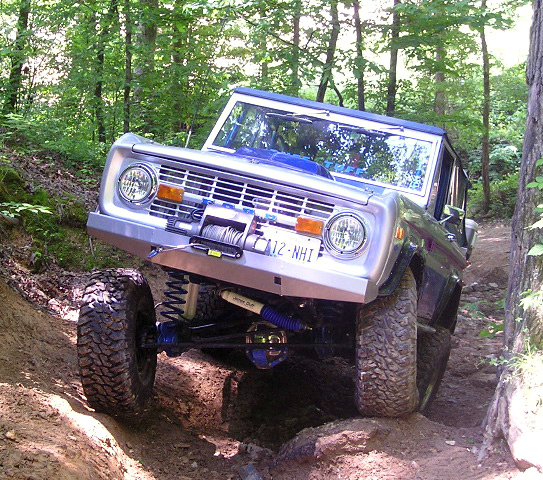 James Duff Bronco running the Monster Suspension Kit