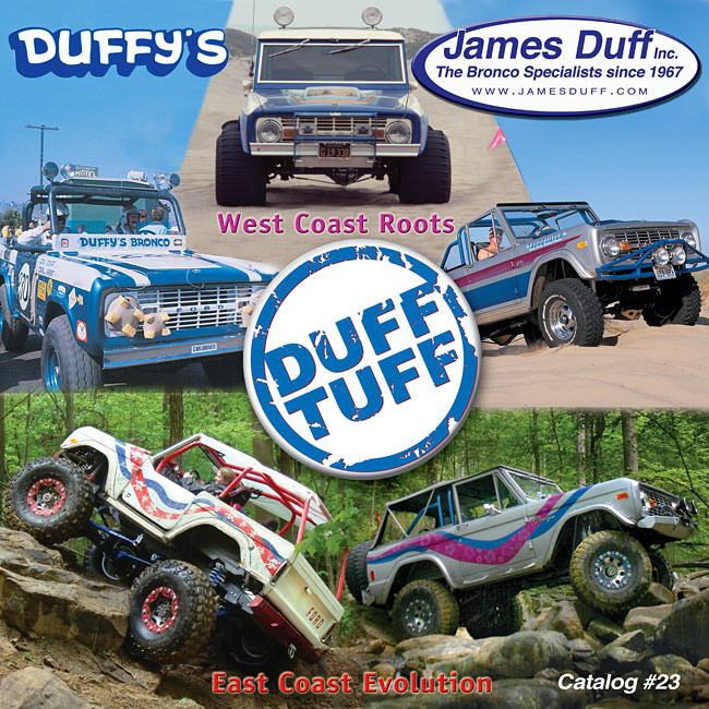 James Duff Bronco Catalog