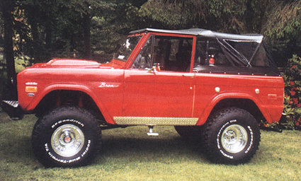 Customers Rides Ford Early Bronco Bronco Ii Ranger